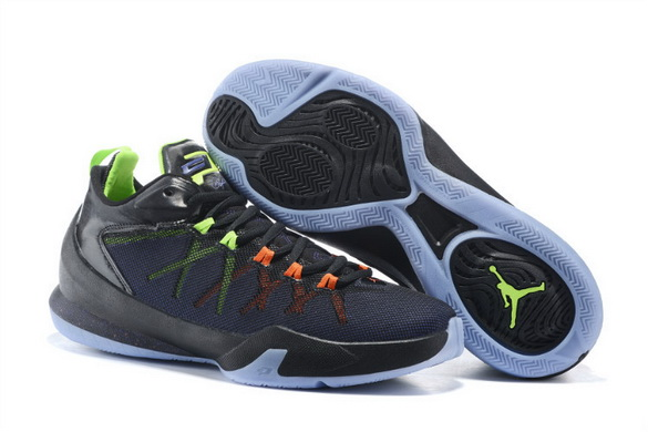 Jordan CP3 VIII Shoes black/green