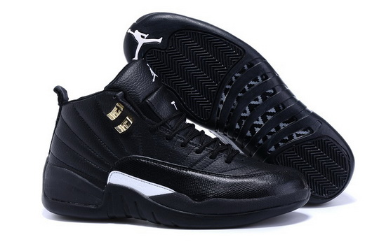 "Air Jordan 12 ""The Master"" Shoes Black/white"