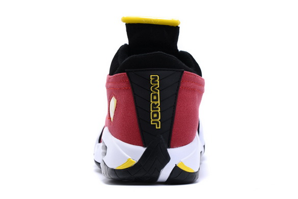 Men's Air Jordan 14 Shoes Red/black yellow white