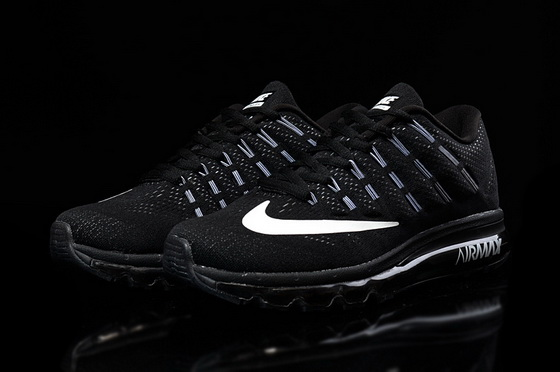 "Air Max 2016 ""Running"" Shoes Black/white"