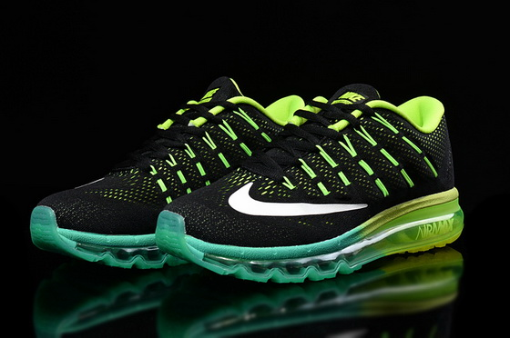 "Air Max 2016 ""Running"" Shoes Green/black white"
