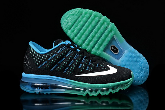 "Air Max 2016 ""Running"" Shoes Blue/black white"