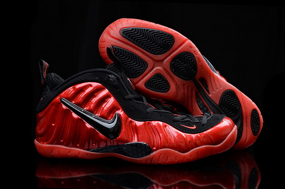 Men's Air Foamposite Pro Shoes Red/black
