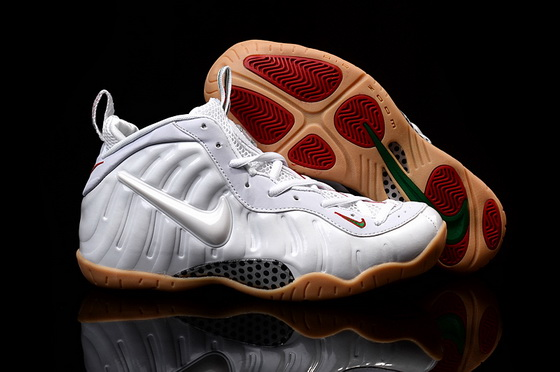 "Air Foamposite One ""winter white"" Shoes White/red"