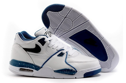 Men's Air Flight 89 Shoes White/blue
