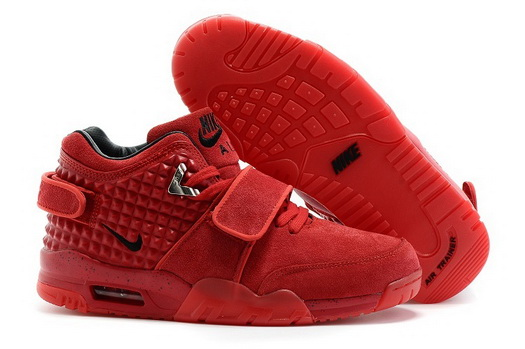 Air Trainer Cruz Prm Shoes Red/black