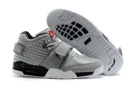Air Trainer Cruz Prm Shoes Gray/black white