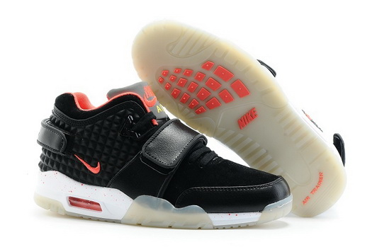 Air Trainer Cruz Prm Shoes Black/redn