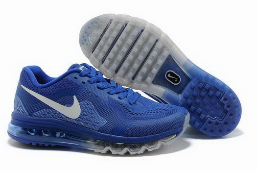 Men's Air Max 2014 Shoes Blue/white