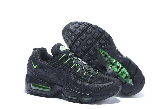 "Air Max 95 Retro ""20th Anniversary"" Shoes Black/green"