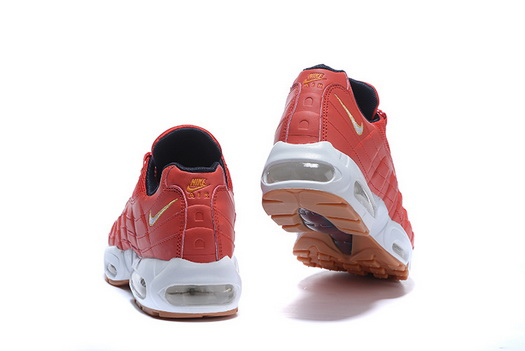 "Air Max 95 Retro ""20th Anniversary"" Shoes Red/white"