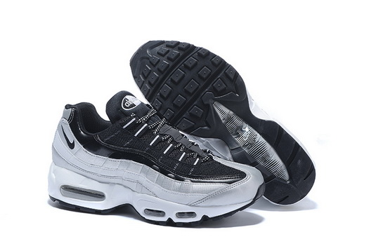 "Air Max 95 Retro ""20th Anniversary"" Shoes Black/silver"