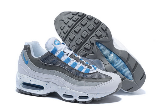 "Air Max 95 Retro ""20th Anniversary"" Shoes Gray/white blue"