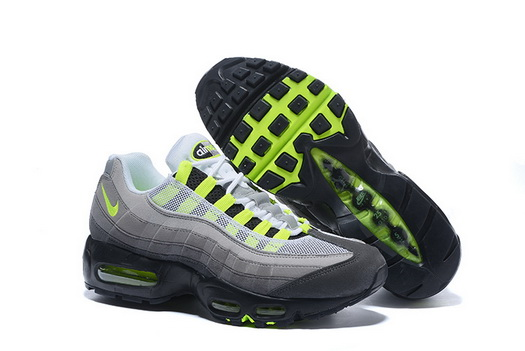 "Air Max 95 Retro ""20th Anniversary"" Shoes Green/gray black"