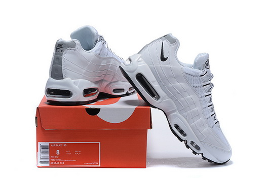 "Air Max 95 Retro ""20th Anniversary"" Shoes White/black"