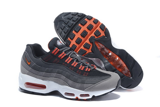 "Air Max 95 Retro ""20th Anniversary"" Shoes Gray/red white"