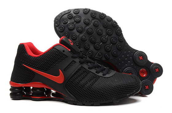 Men's Shox Shoes Black/red