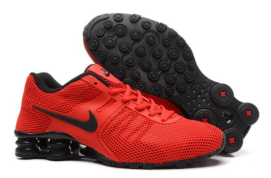 Men's Shox Shoes Red/black