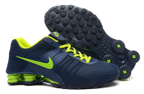 Men's Shox Shoes Blue/green
