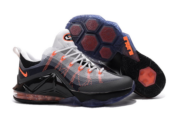 "Air Max 95 ""Lebron 12"" Shoes Black/gray orange"