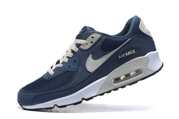 Men's Air Max 90 Shoes Blue/gray white