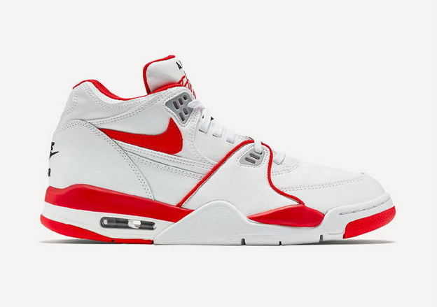 Air Flight '89 Shoes White/University Red