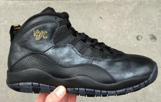 "Air Jordan 10 ""City Pack"" Shoes Nyc/Black"