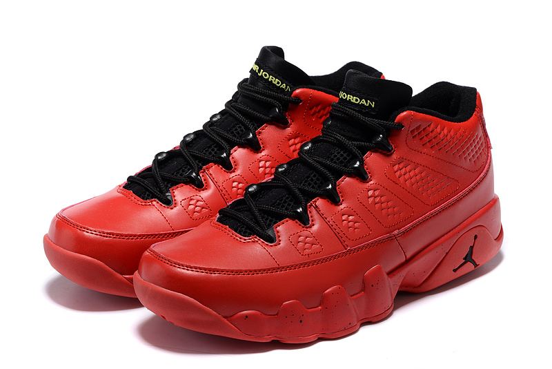 "Air Jordan 9 ""China Red"" Shoes Hot red/black"
