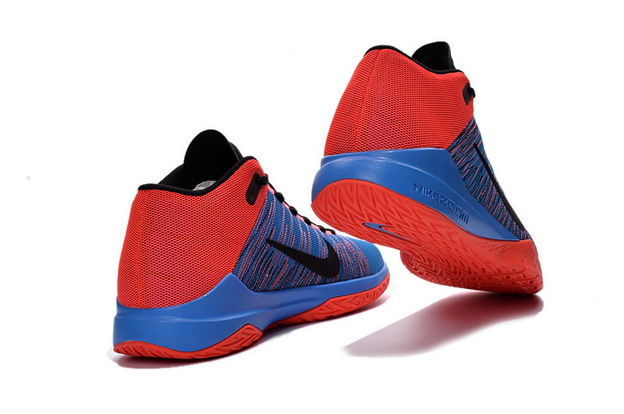 Zoom ASCENTION 2016 Shoes Red/Blue Black