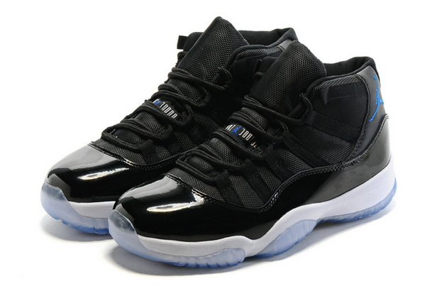 "Air Jordan 11 ""2016 Space Jam"" Shoes Black/Blue White"