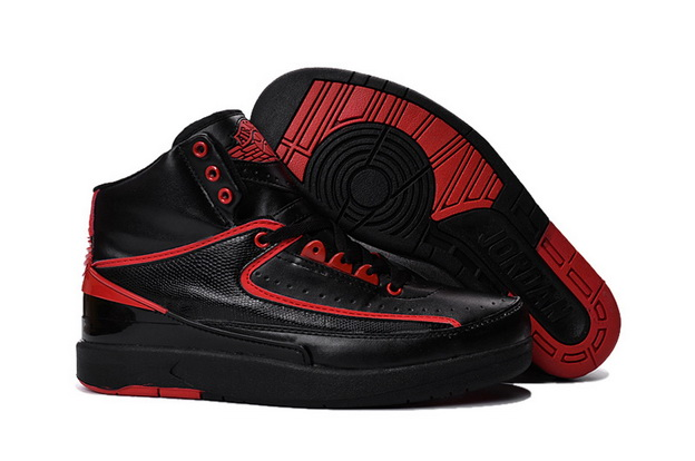 "Air Jordan 2 ""Alternate 87"" Shoes Black/Red"