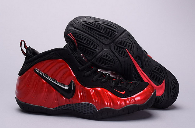 "Air Foamposite Pro ""University Red"" Shoes Black"