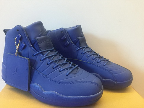 "Air Jordan 12 ""PSNY"" Shoes Real Blue"
