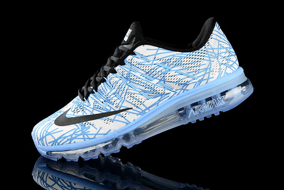 Men's Air Max 2016 Shoes Blue/White black