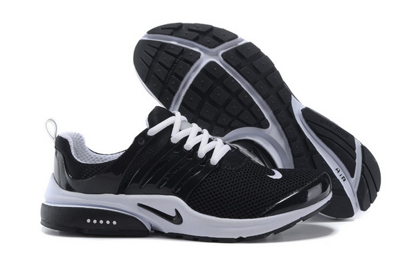 Mens Air Presto BR Shoes Black/White