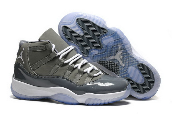"Air Jordan 11 ""2016 Cool Grey"" Shoes Dark Grey/white"