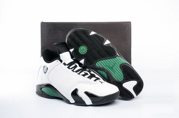 "Air Jordan 14 ""Oxidized Green"" Shoes White/black green"