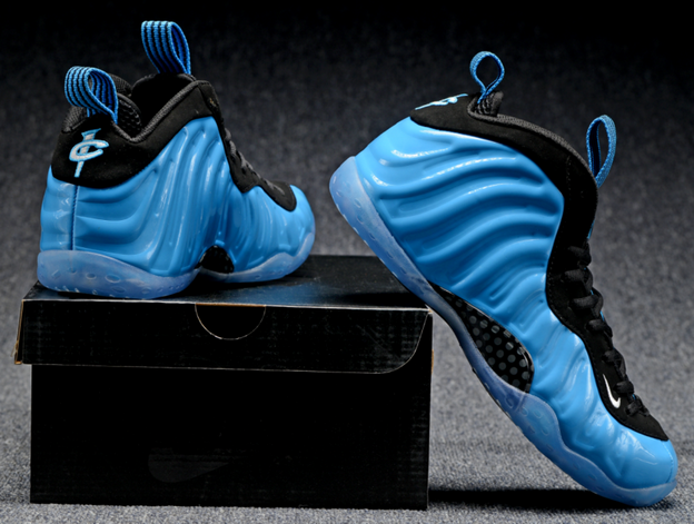 Air Foamposite One 2016 Shoes Blue/Black White