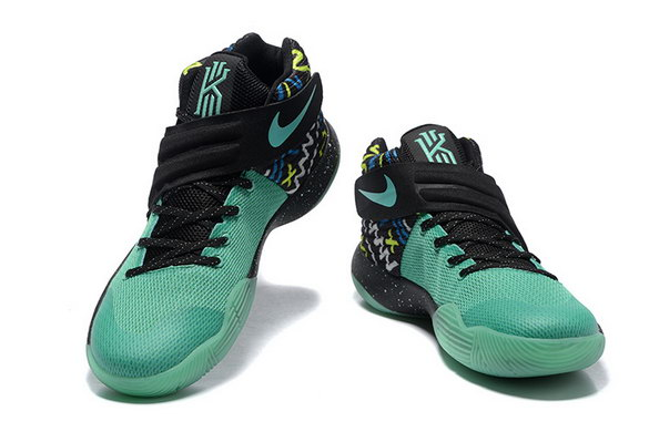 Kyrie 2 Basketball shoes Green/Black Green