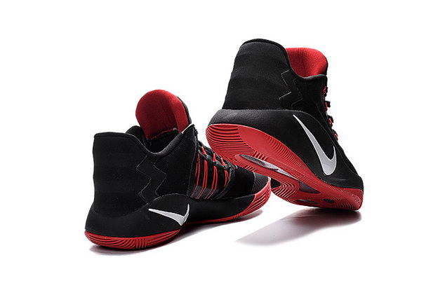 Hyperdunk 2016 Low Shoes Black/White Red