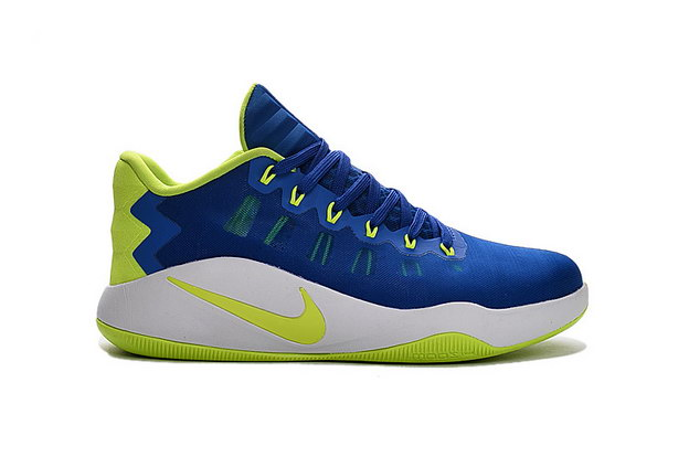 Hyperdunk 2016 Low Shoes Blue/Green White
