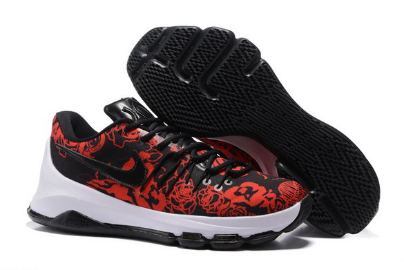 KD 8 MOTHER'S DAY Shoes Red/Black White