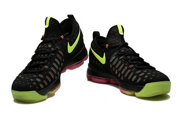 "KD 9 ""Unlimited"" Shoes Black/Green Red"