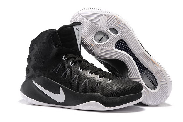 Air Hyperdunk 2016 Shoes Black/white - Click Image to Close