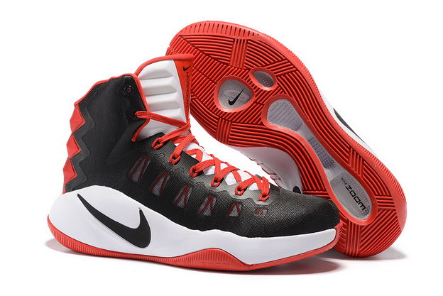 Air Hyperdunk 2016 Shoes Black/red white
