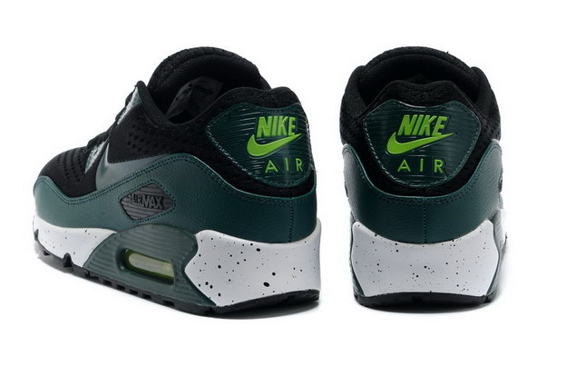 Men's Air Max 90 Premium EM Shoes Black/green white