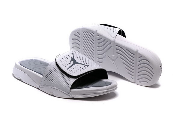 Jordan Hydro 5 Retro Shoes Wolf grey/White