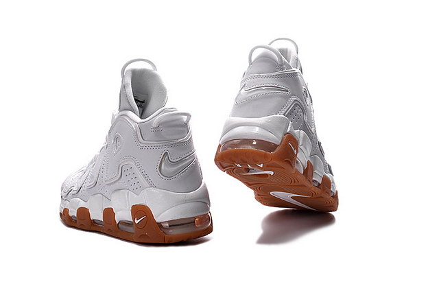 "Air More Uptempo ""Gum"" Shoes White"
