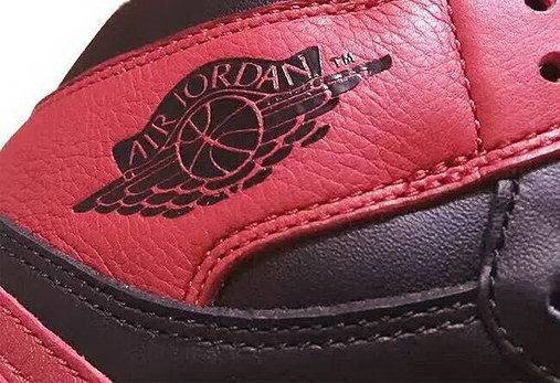 "Air Jordan 1 ""Banned"" Shoes Red/Black"