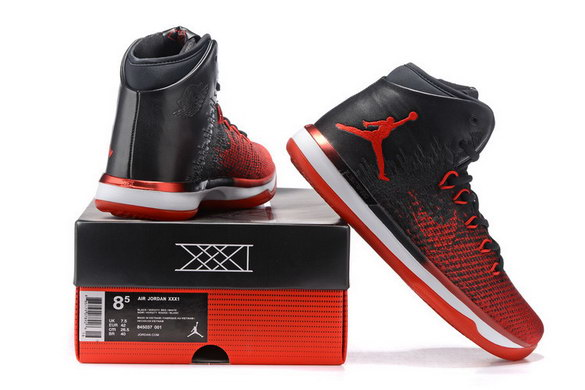 Air Jordan 31 Shoes Black/Red